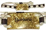 Coco Rec Bracelets with Barbara (first name/surname/nickname)