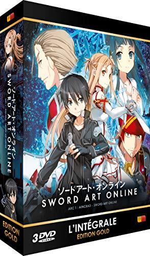 Sword Art Online - Arc 1 (SAO) - Edition Gold (3 DVD + Livret)