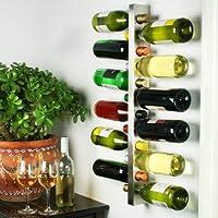 Wine Bar Estante de vino contemporáneo para 12