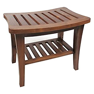 Redmon Genuine Teak Bench from W C Redmon Company Inc