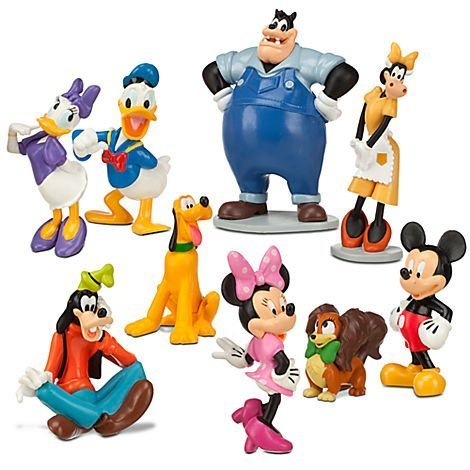 Disney Mickey Mouse Clubhouse Figurine Deluxe Figure Set Children, Kids, Game