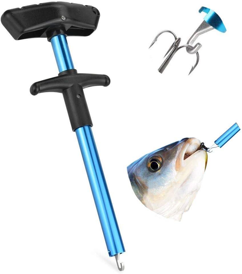 Aluminium-Legierung Fischhaken Extraktor Pistole Griff Design Angelhaken