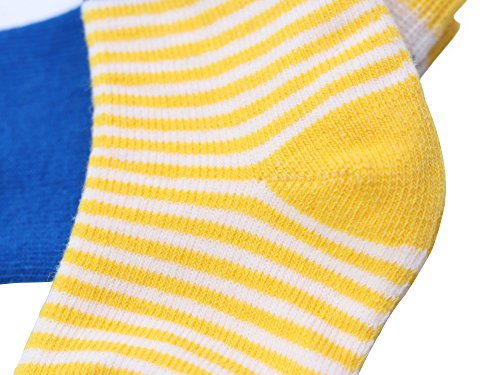 DEBAIJIA 4 Paia Calzini Bambini Calze Ragazze Ragazzo Spessi Cotone Caldo Inverno Confortevole 0-36 Mesi Abbigliamento 3