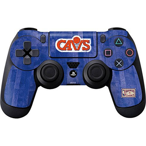 NBA Cleveland Cavaliers PS4 DualShock4 Controller Skin - Cleveland Cavaliers Hardwood Classics Vinyl Decal Skin For Your