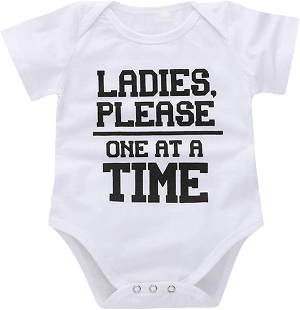 Woaills Kids Mothers Day Baby Gift Cute Bodysuit Newborn Infant Baby Girls Boys Letter Print Romper Outfits Clothing