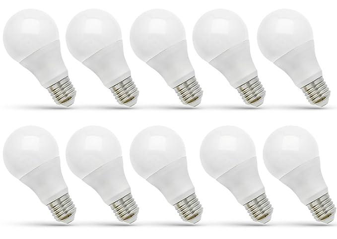 Bombilla LED E27 13 W (107 W) blanco frío – Calidad Premium – [