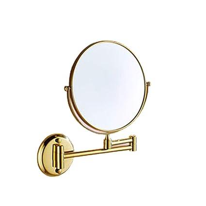 amazon com happy time bathroom vanity mirror foldable mirror double rh amazon com