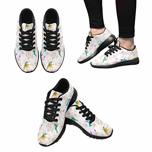 Interestprint Femmes Jogging Running Sneaker Léger Aller Confort De Marche Facile Sport Chaussures De Course Multi 4