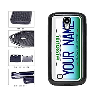 Personalized Custom Missouri License Plate 2-Piece Dual Layer Phone Case Back Cover Samsung Galaxy S4 I9500