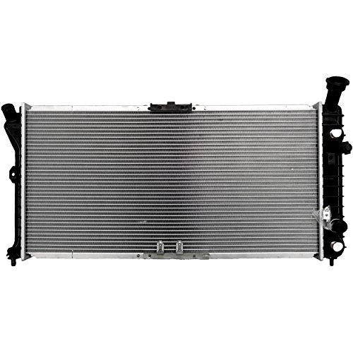 ECCPP New Aluminum Radiator 1890 fits for 1997-2000 Chevrolet Venture Base1997-2003 Pontiac Grand Prix GTP (97 1997 New Silhouette Oldsmobile)