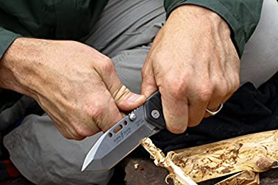 Buck Knives 0095BKSTP TOPS/Buck CSAR-T Tactical Folding Knife with M.O.L.L.E Compatible Sheath from Buck Knives :: Combat Knife :: Tactical Knife :: Hunting Knife :: Fixed Blade Knife :: Folding Blade Knife