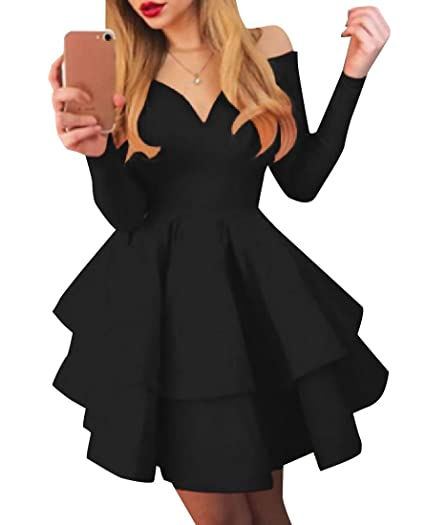 Abetteric Women Homecoming Deep Plunge Fit and Flare Cocktail Dress at Amazon  Women s Clothing store  0ec2e1c62