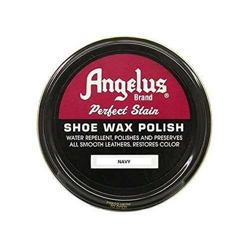 Angelus Shoe Wax 2.25 Oz. Navy