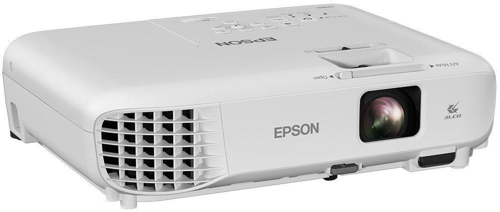762-7620 mm Vid/éo-projecteurs 3300 ANSI lumens, 3LCD, XGA 4:3 1024x768 15000:1 30-300 Epson EB-X05 vid/éo-projecteur