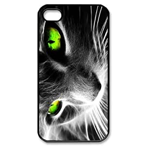 Animals - cat pattern design For Apple iPhone 4,4S Phone Case