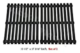 Hongso PCI812 Porcelain Steel Cooking Grid/Cooking Grates Replacement for Brinkmann, Grill Master, Nexgrill and Uniflame Gas Grills, Set of 2