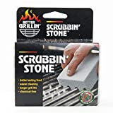 Better Grillin' Scrubbin' Stone Grill Cleaner - Scouring Brick/Barbecue Grill Brush/Barbecue Cleaner - Advanced Green Technology Easily Removes Grime and Grease from BBQ, Grills, Griddles, Racks (1)