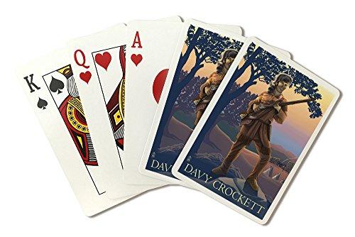 Crocketts Cabin - Davy Crockett (Playing Card Deck - 52 Card Poker Size with Jokers)