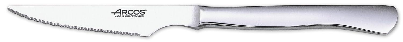 Arcos 378100 - Juego de cuchillo chuletero y tenedor, 100 mm (12pzs): Amazon.es: Hogar