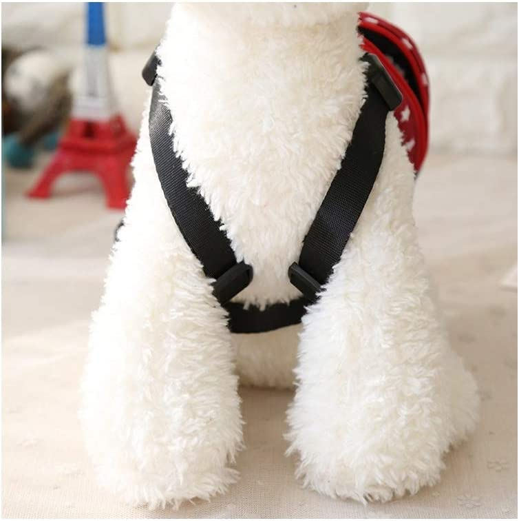 Puppy Dog Cute Animal Back Pack Saddle Bags with Lead Leash for Dog Outdoor Training Walking Stock Show Pet Dog Cartoon Backpack Harness with Leash