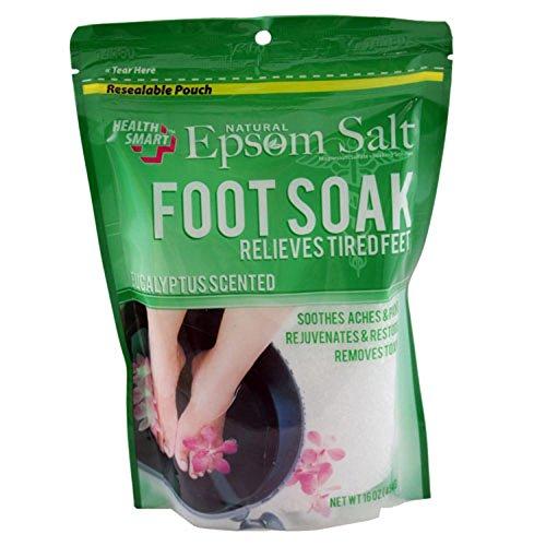 Natural Epsom Salt FOOT SOAK (Eucalyptus) 16oz (454G) (Absent Drink)