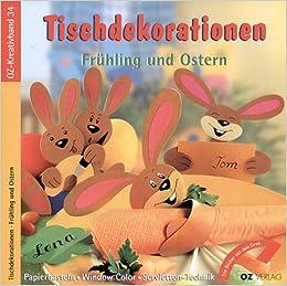 Book Tischdekorationen Frühling und Ostern.