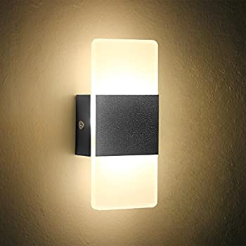 Amazon.com: Geekercity Mini lámparas de luces de pared ...