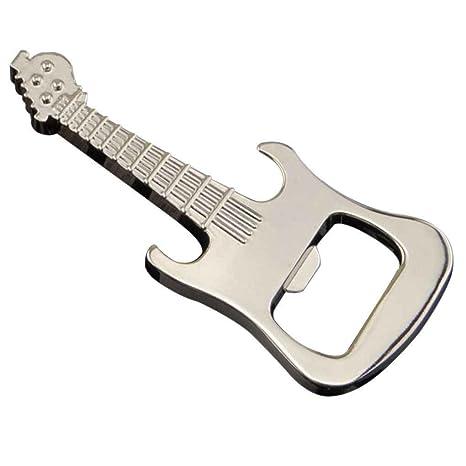 Rekkles Regalos Botella Guitarra Llavero Gadget abridor ...