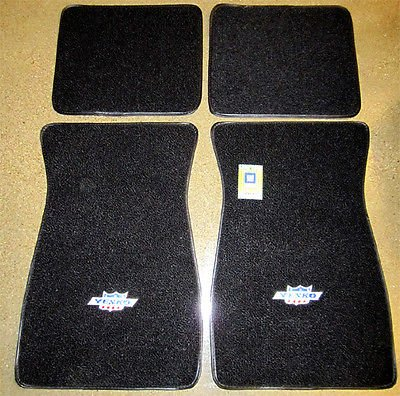 - The Parts Place Yenko Embroidered Carpeted Floor Mat Set