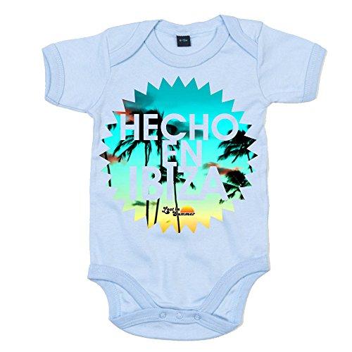 Lost In Summer: Hecho en Ibiza Baby Grow - Light Blue Marl, 12-18 months ()