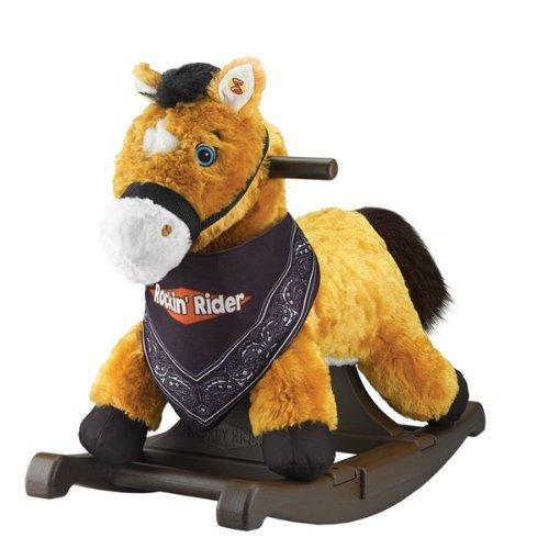 Rockin Rider Rocking Pony, Bandana Included, Chestnut ()