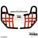 Honda TRX 400EX SPORTRAX (1999-2014) Standard Nerf Bars Black Bars w/ Red Net