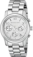 Michael Kors Watches Silver Chronograph Runway Watch