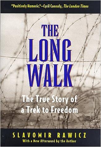 The Long Walk By Slavomir Rawicz Ebook