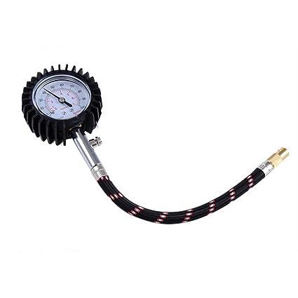 winomo 100 PSI de presión de neumáticos Manómetro Medidor para Coche Camión Moto o Bicicleta