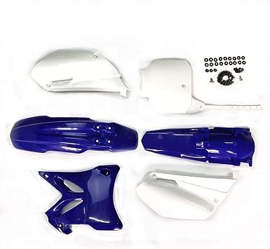 hongyu YZ85 Blue Plastic Body Fender Kit for YAMAHA YZ85 2002-2014 Pit Dirt Bikes Including Mounting Screw