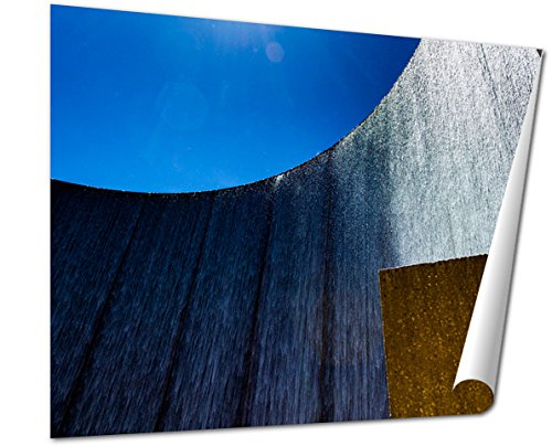 Ashley Giclee Fine Art Print, Houston Galleria Waterfall Fountain By The Galleria Mall, 16x20, - The Houston Galleria Mall