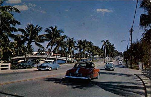 La Olas Boulevard Fort Lauderdale, Florida Original Vintage - Los Boulevard Olas
