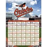 Turner Perfect Timing Baltimore Orioles Jumbo Dry Erase Sports Calendar (8921045)