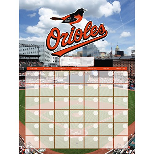Turner Perfect Timing Baltimore Orioles Jumbo Dry Erase Sports Calendar (8921045)