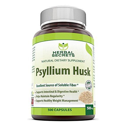Herbal Secrets Psyllium Husk 500 Mg 500 Capsules Review