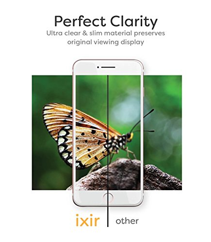 Ixir iPhone 7 Plus Tempered Glass Screen Protector, IXIR [9H Extreme Hardness] {Full HD} {Easy Installation System} PRO+ Tempered Glass Screen Protector for iPhone 7 Plus by Ixir (Image #2)