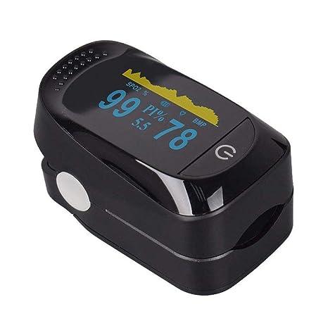 Pulsioxímetro de Dedo Oxímetro Pulsómetro 8 horas de sueño monitor de saturación de oxígeno sanguíneo,