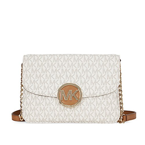 Michael Kors Women's Fulton Flap Gusset Crossbody, - Kors Michael Women