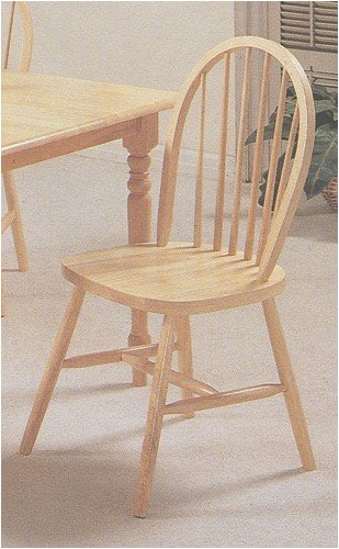 Wood Chair Arrow Natural (Set of 4 Natural Finish Arrow Back Farm House Wood Dining Chair/Chairs)