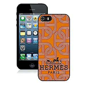 Fashionable And Beautiful Designed Case For iPhone 5S With Hermes 22 Black Phone Case