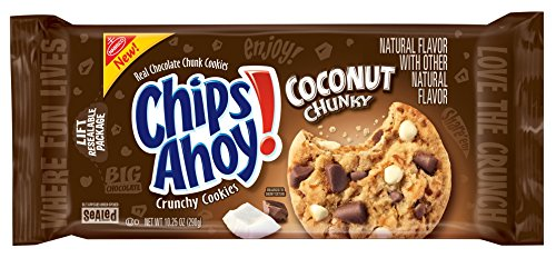 Chips Ahoy! Coconut Chunky Cookies, 10.25 oz (Best Chunky Chocolate Chip Cookies)