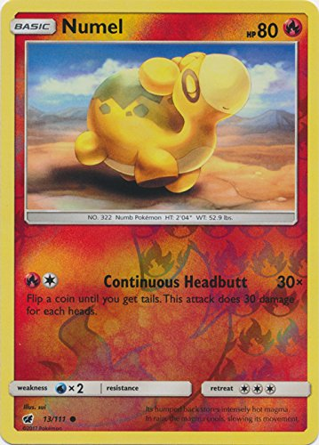 Numel Common Card - Numel - 13/111 - Common - Reverse Holo