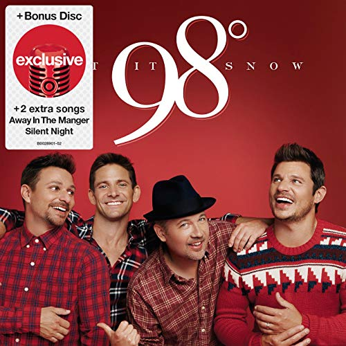 98 Degrees Let It Snow - Greatest Hits (2 CD) (Target Exclusive)