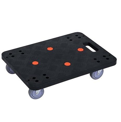 Plataforma De Muebles De Fácil Movimiento Carretilla con Ruedas Rectangular Rectángulo con Ruedas Transportador De Ruedas